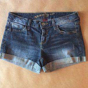 Arizona Rolled Cuff Jean Shorts